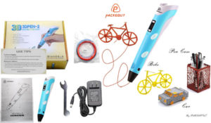 3D Pen, PACKGOUT 3D Doodler Drawing Printing Pen