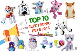 Best Electronic Pets for Kids 2018