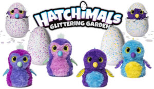 Hatchimals Glittering Garden toys