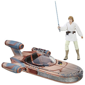 Star Wars The Black Series Luke Skywalker Landspeeder