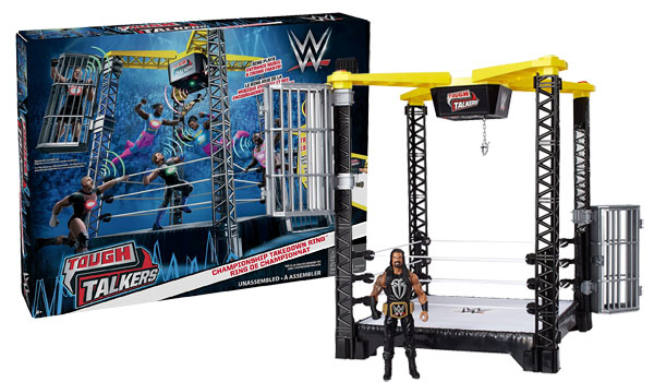 wwe-tough-talkers-championship-takedown-ring-playset-review