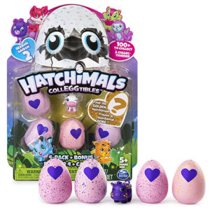 Hatchimals CollEGGtibles Season 2 - 4 Pack + Bonus