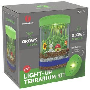 Light-up Terrarium Kit for Kids with LED