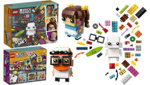 Lego Brickheadz Go Brick Me Building Kit (41597)