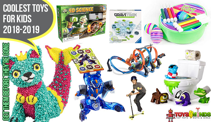 New Toys Christmas 2019.The Coolest Toys For Christmas 2018 To 2019 Toys4minds Com