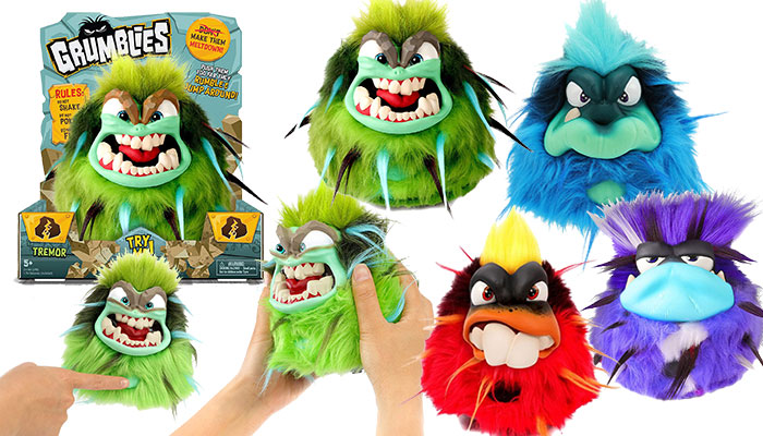grumblies-toy-review-scorch-tremor-hydro-and-bolt