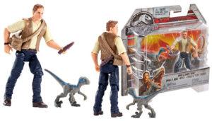 Jurassic World Basic Figure Owen & Baby Blue Figure