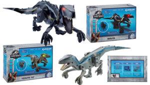 Jurassic World Kamigami Robot (Blue & Indoraptor)
