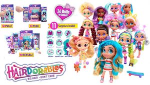 Hairdorables Collectible Surprise Dolls and Accessories