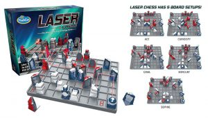 Laser Chess Two Player Strategy Game