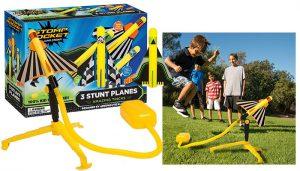 Stomp Rocket Stunt Planes, 3 Planes