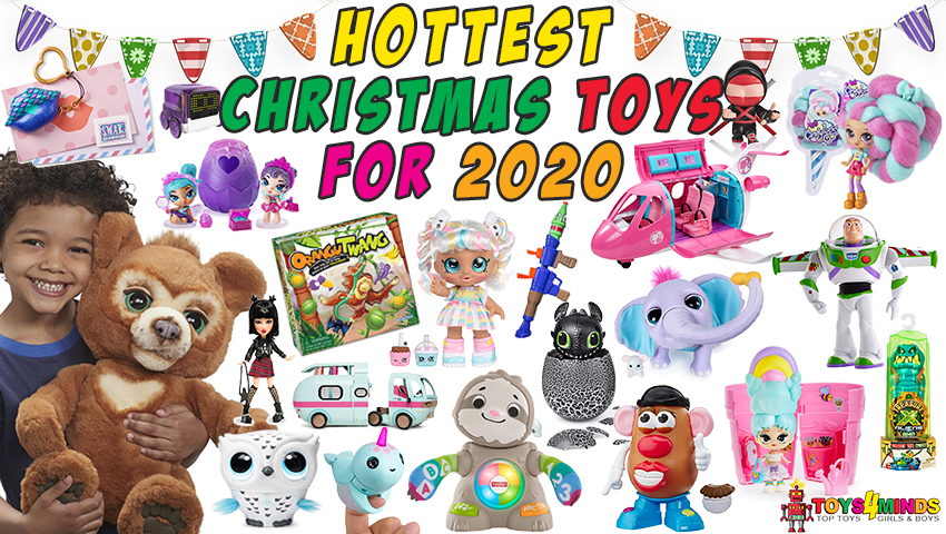 Holiday Kids Plush Toys 2020 Christmas Dogs Hottest Toys for Christmas 2020: Top Christmas Toys 2020 2021